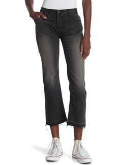 Nili Lotan Released Raw Hem Crop Boyfriend Jeans