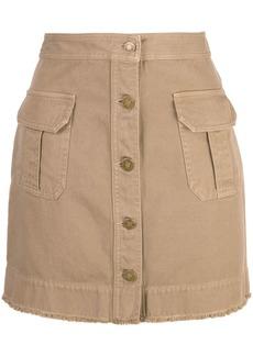 Nili Lotan Sahara mini skirt