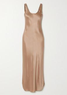 Nili Lotan Silk-satin Midi Dress