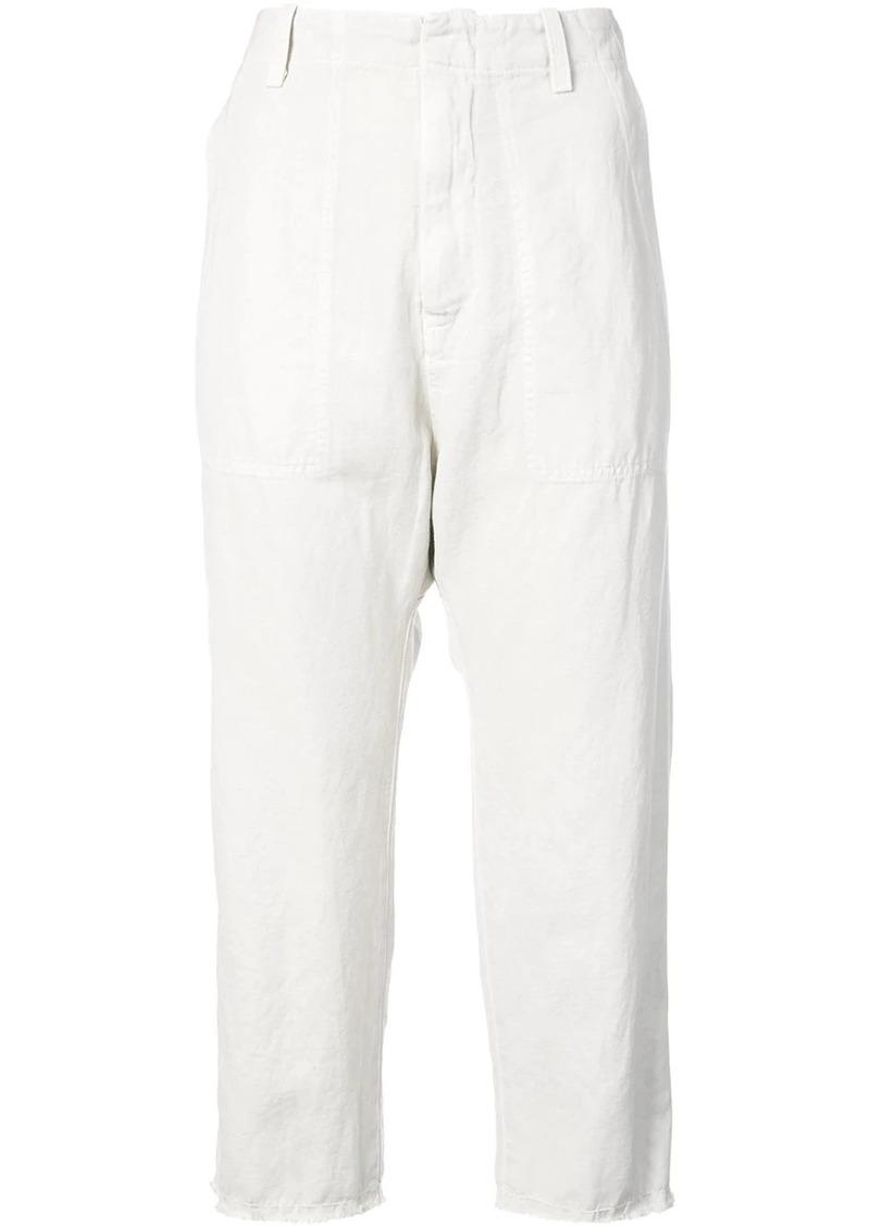 Nili Lotan slim cropped trousers