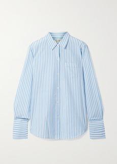 Nili Lotan Striped Cotton Shirt