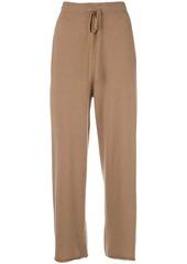 Nili Lotan wide leg track trousers