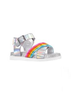 Nina Callysta Metallic Glitter Sandal (Walker, Toddler, Little Kid & Big Kid)