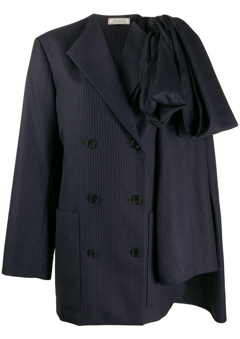 Nina Ricci striped blazer-style dress
