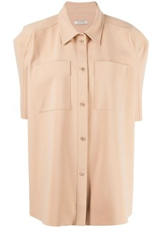 Nina Ricci oversized short-sleeved shirt