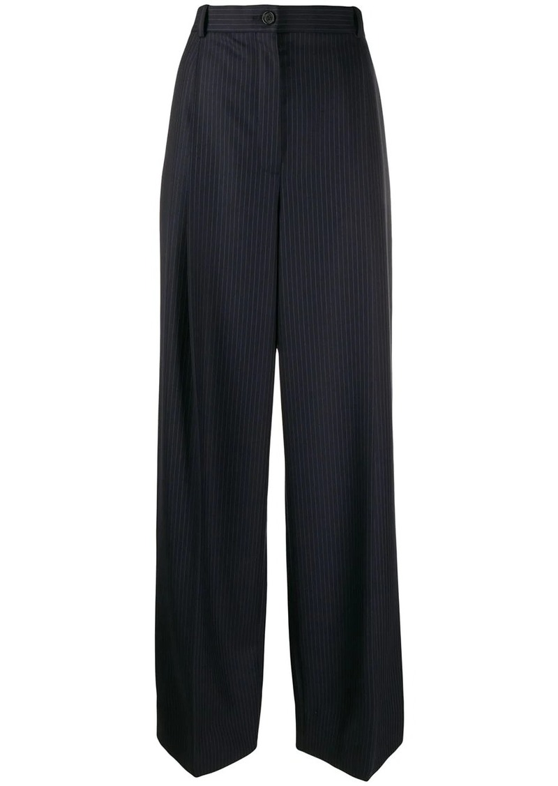 Nina Ricci striped wide-leg trousers