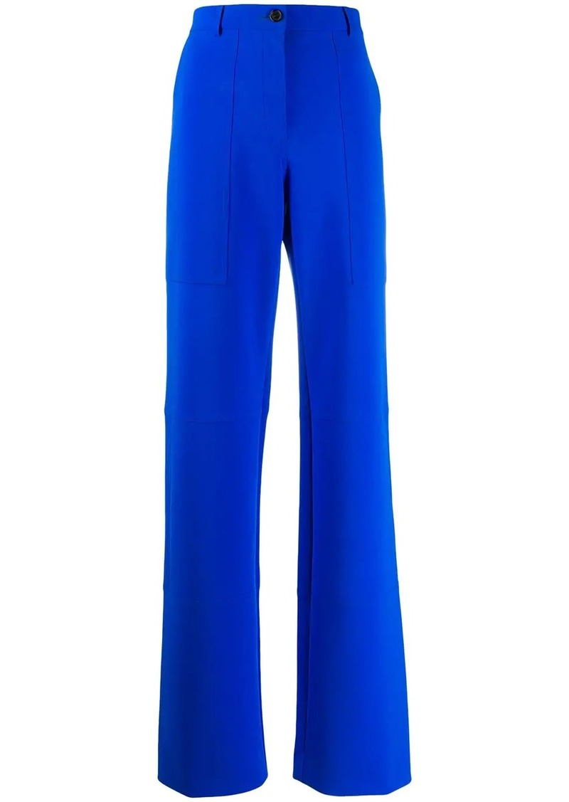 Nina Ricci long wide-leg trousers