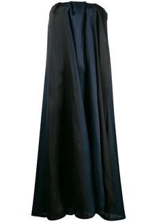 Nina Ricci oversized strapless dress