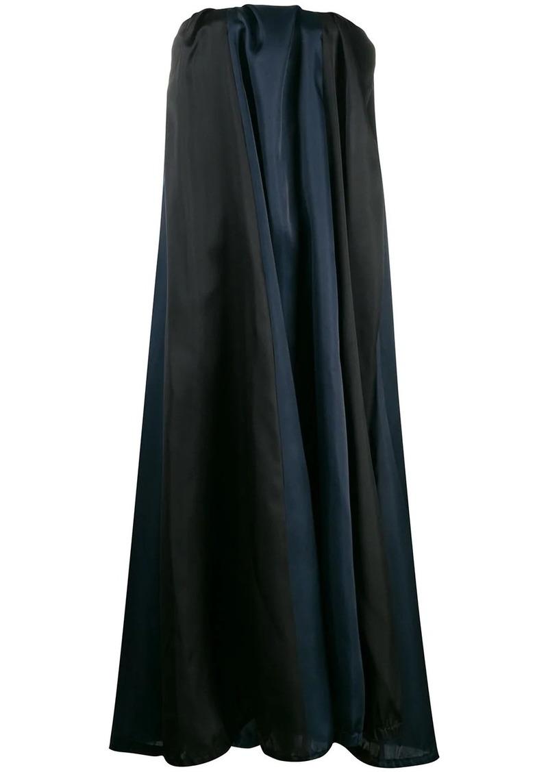 Nina Ricci oversized strapless dress