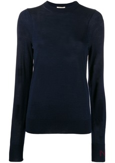 Nina Ricci crew neck knitted top