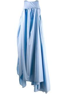 Nina Ricci asymmetric hem gown