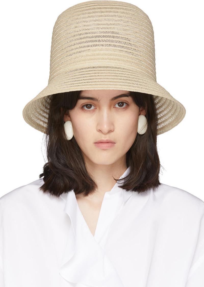 Nina Ricci Beige High Hat