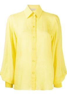Nina Ricci bishops sleeve shirt