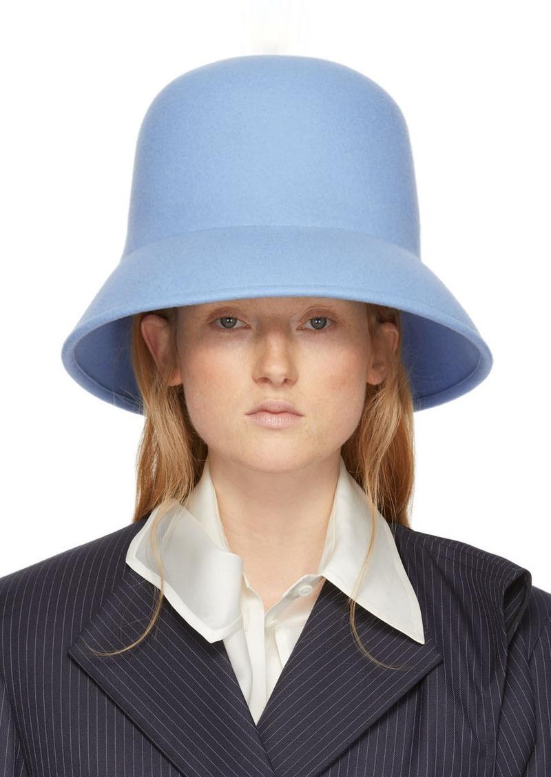 Nina Ricci Blue Wool Hat