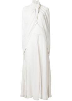 Nina Ricci cape effect dress