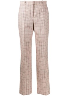 Nina Ricci checked tailored trousers