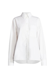 Nina Ricci Collared Poplin Shirt
