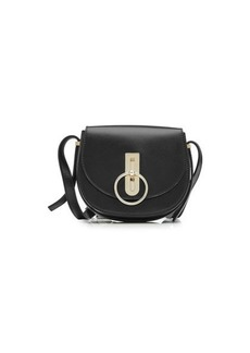 Nina Ricci Compass Leather Shoulder Bag