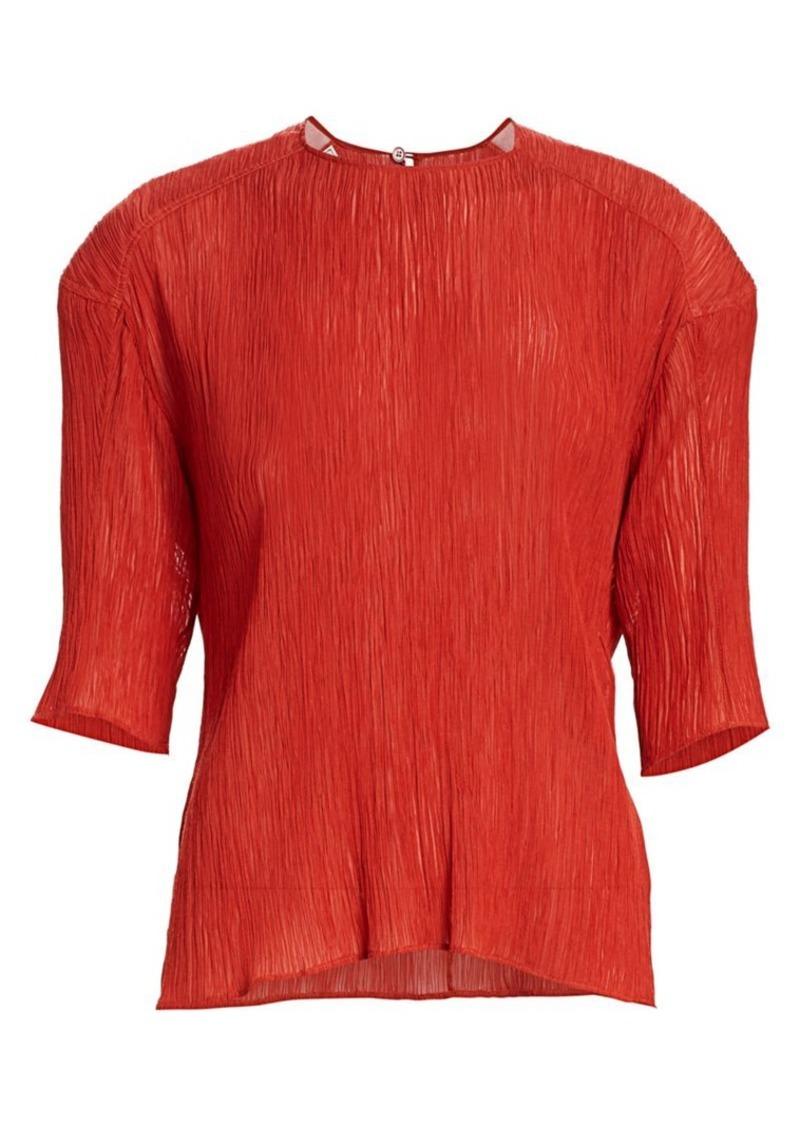 Nina Ricci Cotton & Silk Top