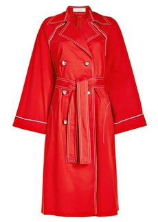 Nina Ricci Cotton Trench Coat