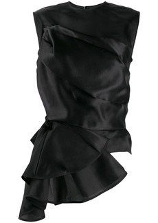 Nina Ricci draped asymmetric top