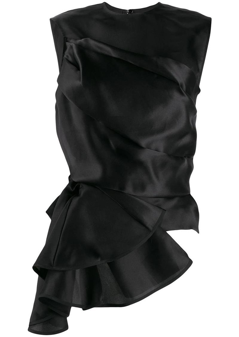Nina Ricci draped asymmetric top