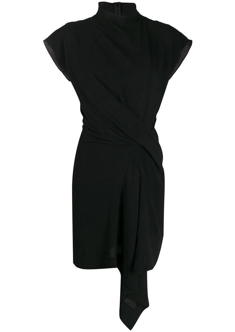 Nina Ricci draped front dress