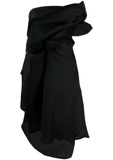 Nina Ricci draped midi dress