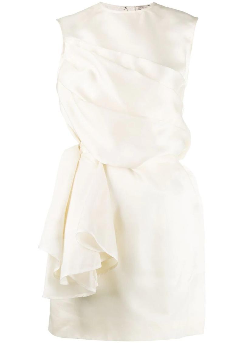 Nina Ricci draped mini dress