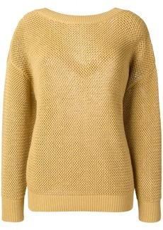 Nina Ricci drop shoulder sweater