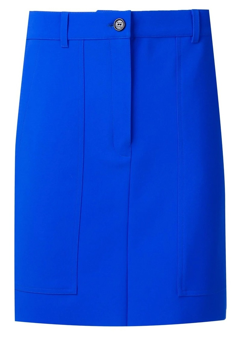 Nina Ricci electrique skirt