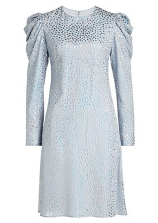 Nina Ricci Embellished Silk Dress