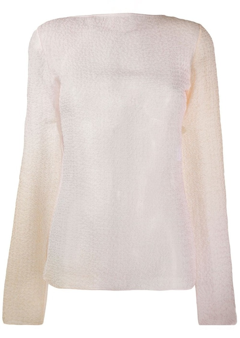 Nina Ricci faded ombré top