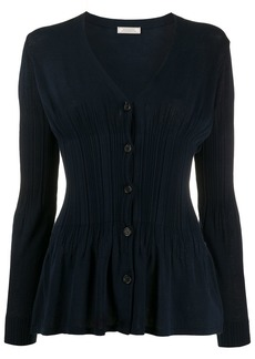 Nina Ricci fine-knit v-neck cardigan