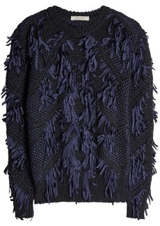 Nina Ricci Fringed Pullover