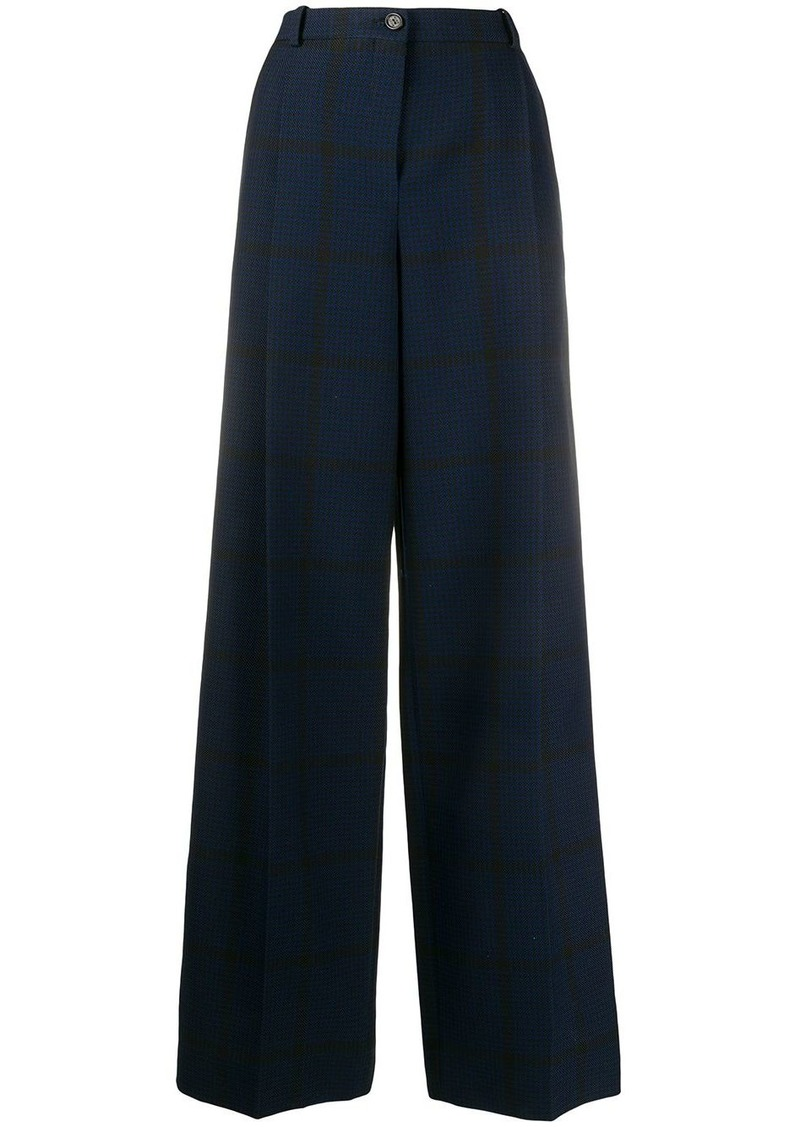 Nina Ricci high-waisted wide leg trousers