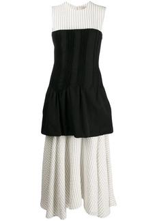 Nina Ricci layered midi dress
