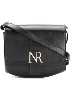 Nina Ricci logo plaque shoulder bag