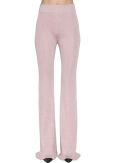 Nina Ricci Lurex Rib Knit Pants