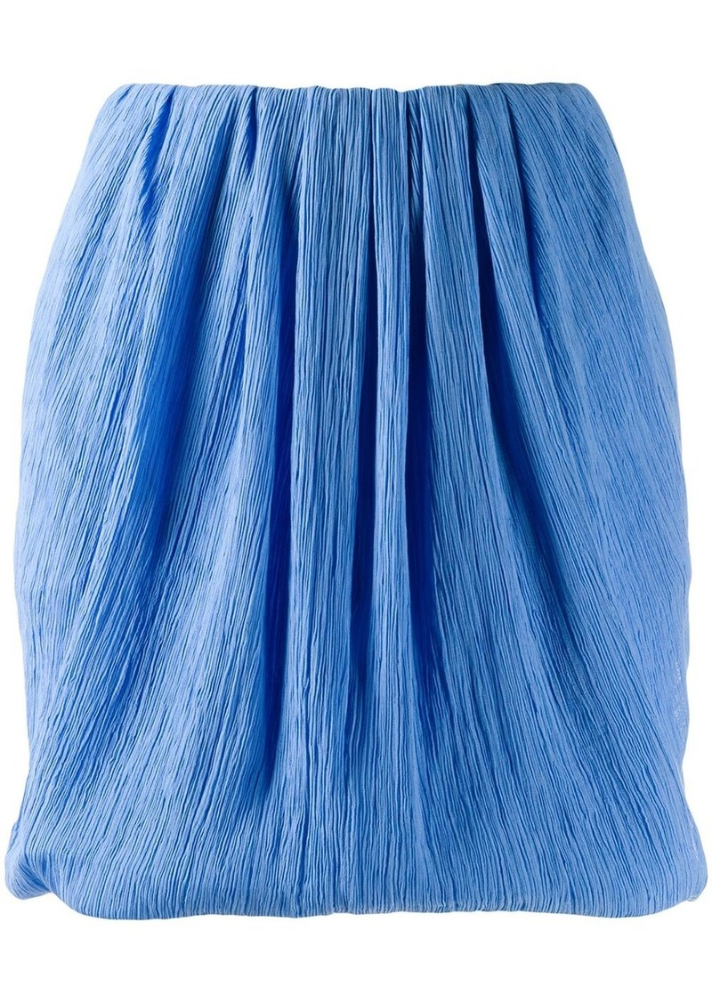 Nina Ricci micro-pleated mini skirt