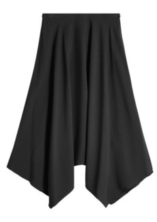 Nina Ricci Midi Skirt with Handkerchief Hem