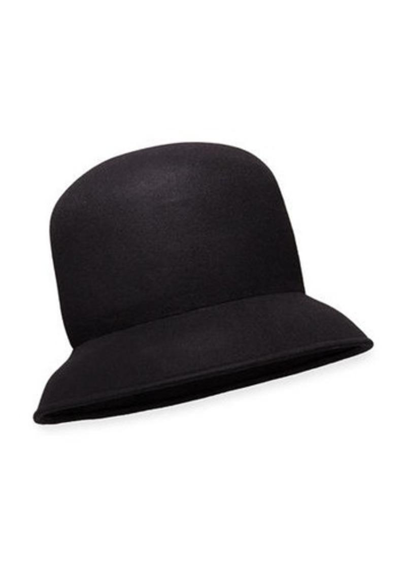 Nina Ricci Brushed-Wool Cloche Hat