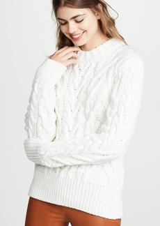 Nina Ricci Cable Knit Sweater