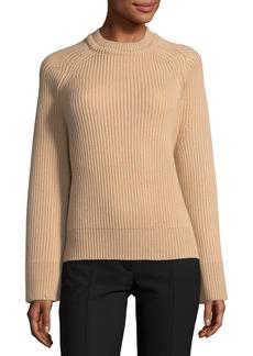 Nina Ricci Chunky Knit Crewneck Sweater