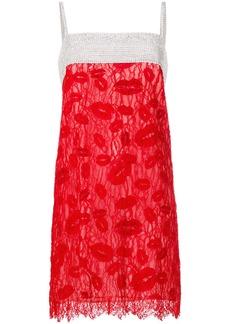 Nina Ricci crystal lace slip dress