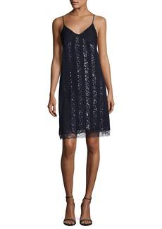 Nina Ricci Embroidered Lace Cami Dress
