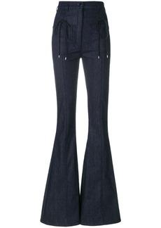 Nina Ricci flared jeans - Blue