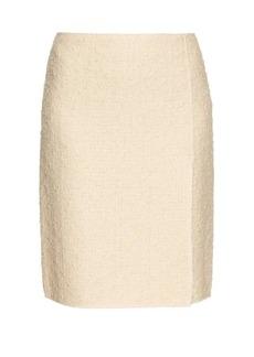Nina Ricci High-waisted tweed skirt