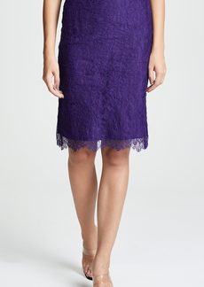 Nina Ricci Lace Mini Skirt