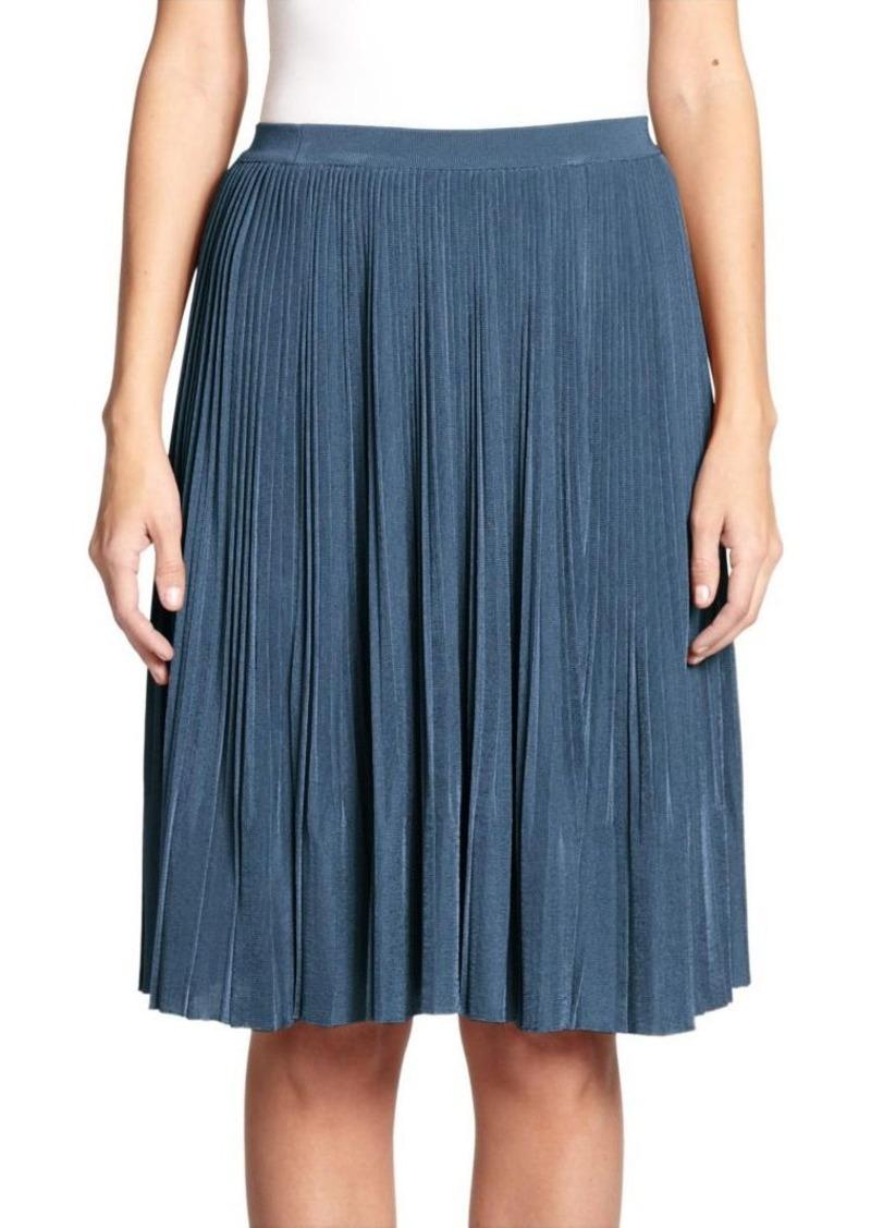 Nina Ricci Pleated Midi Skirt